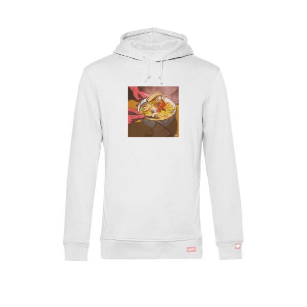 guniverse-hoodie-maennlich-frontansicht-mit-motiv-humanfoodunited